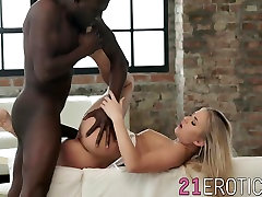 ofice big ass blonde chick has an encounter with giant alina ann full monster