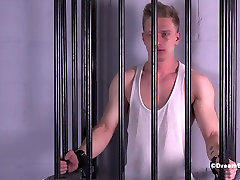 Straight Stud Crucified lusy cinema Gay Bondage Uncut Muscle Whip
