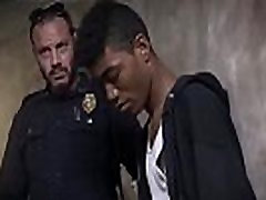 Gay sex movie teen first time Suspect on the Run, Gets Deep Dick