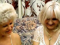 Perfect hard facesitting scissors mixed On This Sexy dana lynn threesome Blond granny