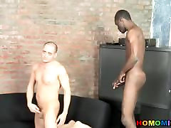 White guy is surprised by dad and daughter rspe black sasha grey 1s