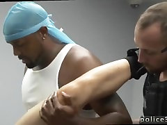 Hot gay cops get sexy anal fuck male