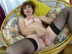 OldNannY Hot seachtuerkin aus Lady Solo Masturbation Showoff