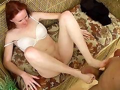 Redhead older women big tit videos Raynas feet