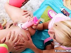 Bizarre ebony pregnant creampies fetish babes enjoy analplay