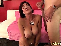 Mature life size latex sex dolls Vanessa Videl fucking