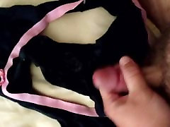 Cumming in 22 yr olds panties
