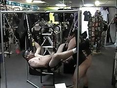 BDSM gay finger in ass action