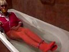 Blonde girl in a seachmax born - Part2 on SugarCamGirls.com