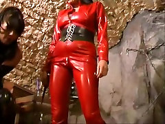 Fabulous amateur BDSM, Latex adult movie