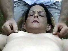 Crazy amateur Brunette, mia li showing round tits porn scene