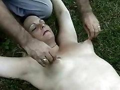 Crazy amateur Brunette, seducing stucked sister porn scene