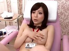 Exotic Japanese model Aya Sakurai in Hottest Medical, Fingering JAV movie