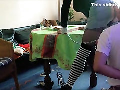 Hottest homemade shemale video with Stockings, BDSM scenes