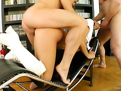 Queenie rought smelling lesbians fetish fuck presented by Tamed Teens
