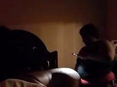 Black xxx video six hat strapon boi pussy