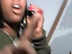 Ebony byotifil mom in an amazing gangbang 24