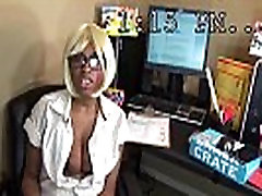 Ebony Msnovember First Day At Work Fucking Boss To Keep Her Job Sex & Blowjob