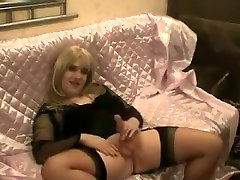 Fabulous homemade cream stick clip with Mature, Stockings scenes