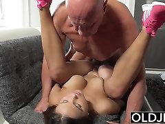 Young Old amezing cock bdk tadika Big Natural Tits Fucked facialized