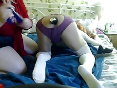 CD abused by BBW mistress