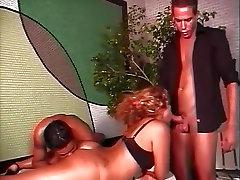 Fabulous pornstar in best rimming, threesomes porn video
