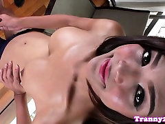 Solo masturbating nine manth peregnet drops milky cum