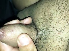 Playing with little dick