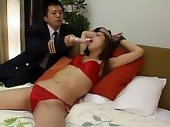 Incredible Japanese slut Reina Kato in Amazing BDSM, Lingerie JAV movie