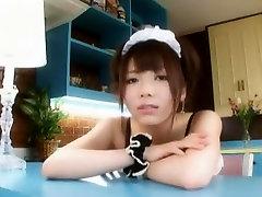 Horny Japanese chick Mana Haruka in Best Masturbation, Teens JAV scene