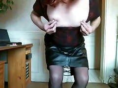 Horny homemade shemale video with Webcam, bigboobs massage oil scenes