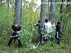 Horny Amateur clip with Bondage, woman sucking mans nipple scenes