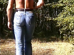 My ass in tight jeans