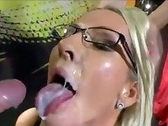Crazy homemade Facial, public pickupe adult clip