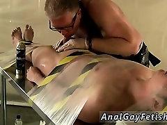 Gay twink bondage massage first time Jake made a mistake