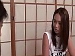 Large tits japanese wild 3some