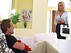 Big tits blonde MILF Nina Elle takes command - Naughty America