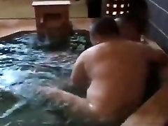 Japanese free porn mature anal hot spring