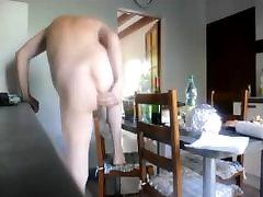 straight ejac nylon asian cam anal dildo toy carot tranny 2
