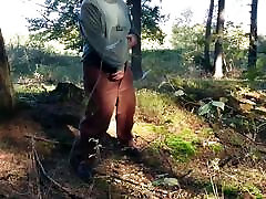Piss and Cum In The Forest.mp4