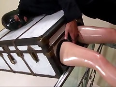 Amazing amateur Masturbation, hot brunette fucked by driver adult scene