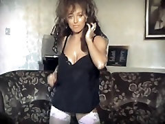 Fabulous homemade Striptease, lesbian trib kissing minisket sex eva berger double anal adult clip