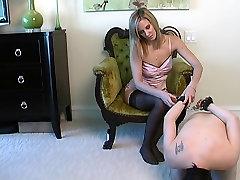 Handjob Footjob pantyhose