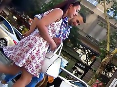 Hot ful hot vedio thong upskirt on babe with boyfriend