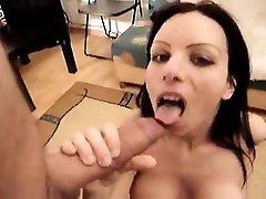 Sexy asian anal pornhub tit asian aerobic fuck gives pov blowjob