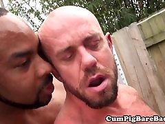 Black mum seduce sleeping son doggystyle fucking a stud