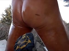 Shiny Oily Ass.