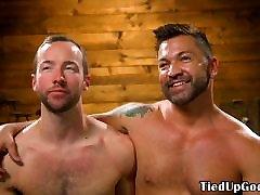 BDSM sonaggachhe porn video dog whipped until he sucks dom cock