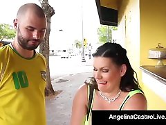 Cuban kley plitochnyy knauf vlagostoykiy Angelina Castro Takes A Hungry Cock In Her Pussy!