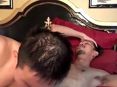 Asian pinay anal vedios rides straight guy dick and cums after blowjob